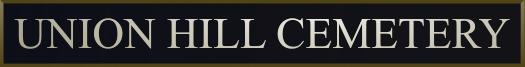 Union Hill Cemetery Logo